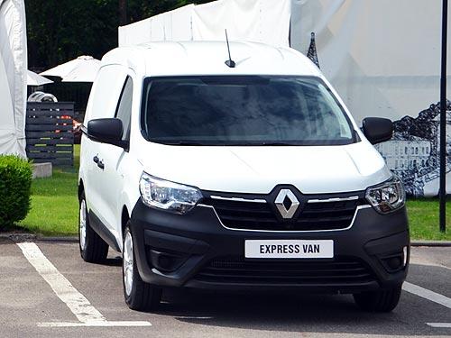 В Украине стартовали продажи Renault Express фургон