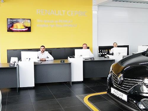 В Умани открылся новый дилерский центр Renault - Renault