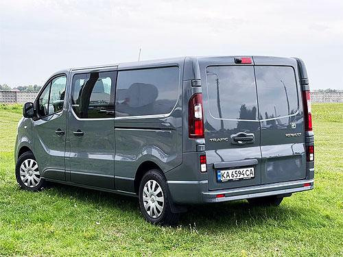 Какие решения предлагает грузопассажирский Renault Trafic - Renault