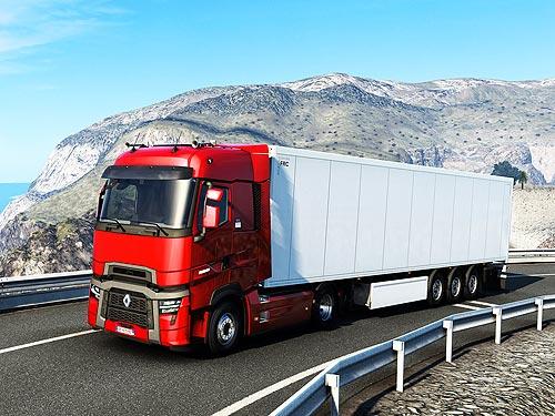 Renault Trucks представила новые модели T и T High 2021 в игре-симуляторе - Renault