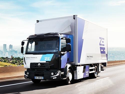 Renault Trucks в 2023 году начнет продажи линейки электрических грузовиков для все сегментов