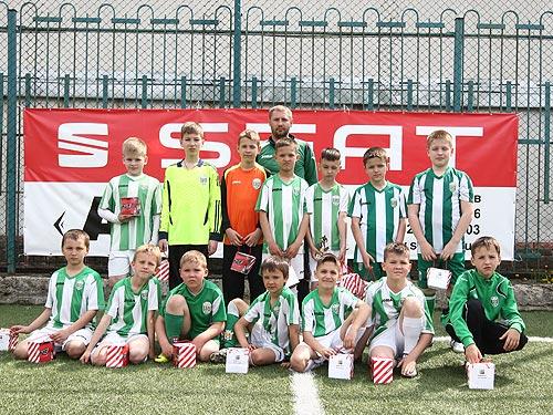 SEAT в Украине поддерживает футбол и провел турнир «SEAT Junior Cup-2014» - SEAT