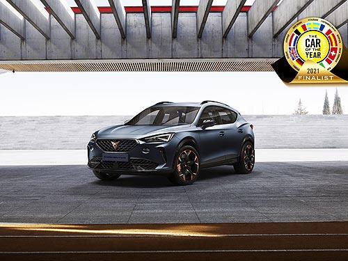 CUPRA Formentor номинирован на премию «Car of the Year 2021»