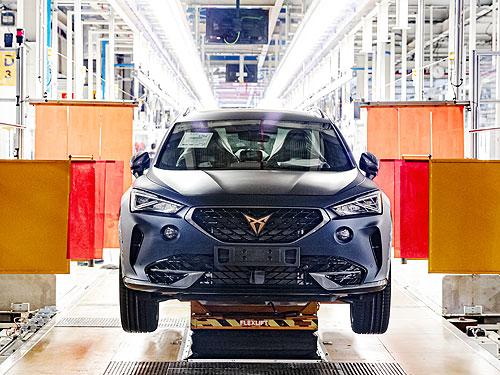 В Испании стартует производство нового CUPRA Formentor