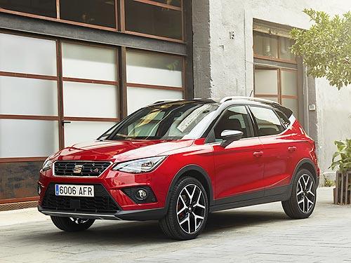 На SEAT Arona 2020 года выпуска действует выгода около 50 000 грн.