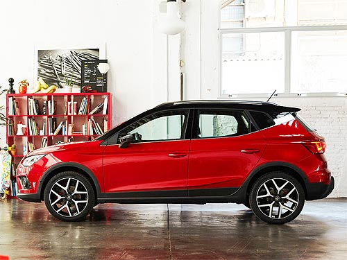 На SEAT Arona 2020 года выпуска действует выгода 8% - SEAT