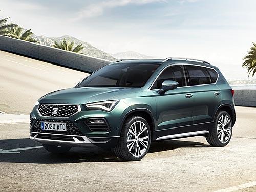 В Украине стартовали продажи нового SEAT Ateca