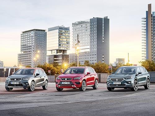 В Украине стартовал сезон выгодных ценовых предложений на весь модельный ряд SEAT