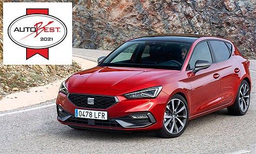 Новый SEAT Leon получил пять звезд в рейтинге безопасности EuroNCAP - SEAT