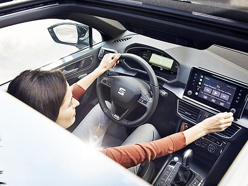 Летом покупатели SEAT Ateca и Tarraco могут сэкономить около 50 000 грн.