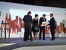 Лучший украинский дилер Skoda 2012 года получил награду