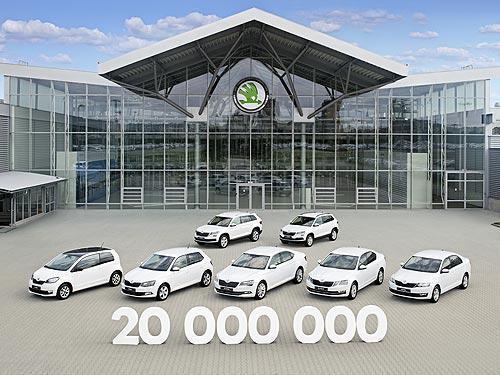 Skoda выпустила 20-миллионный автомобиль - Skoda