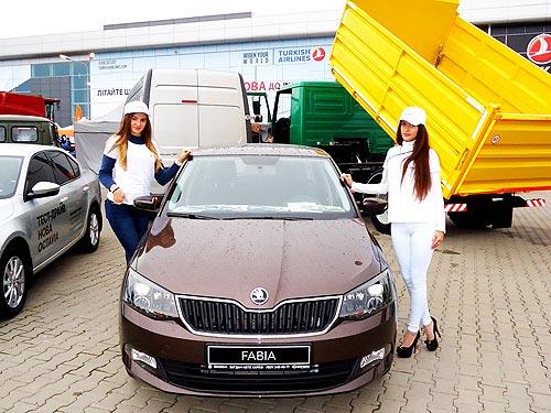 Закрытие сезона: на агровыставке в Харькове представили популярные модели SKODA - SKODA