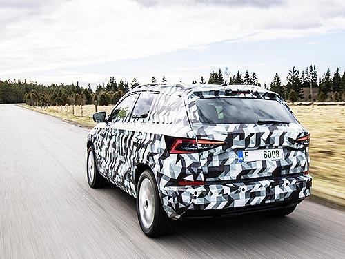 Новый компактный SUV SKODA будет называться KAROQ - SKODA