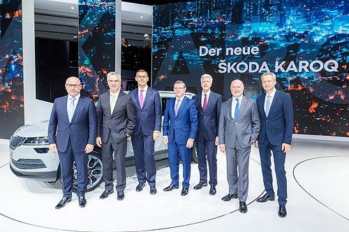 Skoda представила ожидаемые премьеры ŠKODA KAROQ и ŠKODA VISION E - Skoda