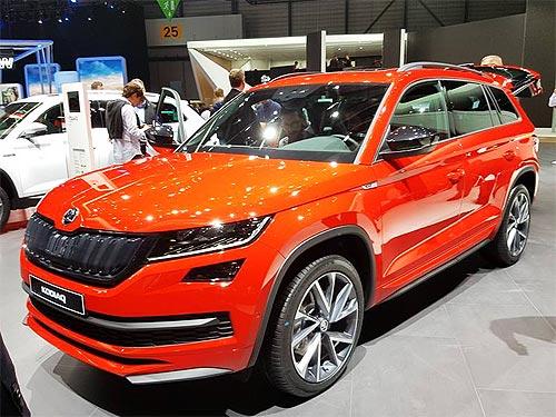 Skoda в Женеве представила новые версии моделей и несколько премьер - Skoda
