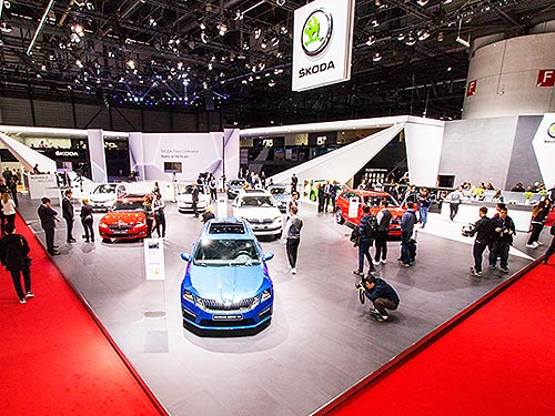 Автомобили SKODA получили сразу три награды в конкурсе «Автомобиль года в Украине 2018» - SKODA
