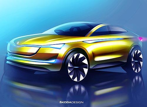 SKODA представит обновленный концепт VISION E с третьим уровнем автономного вождения