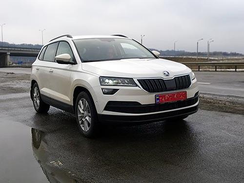 Skoda Karoq уже проходит тесты на украинских дорогах - Skoda