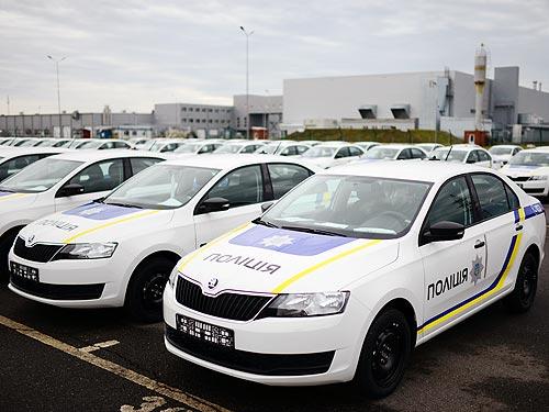 Национальная полиция получила новые автомобили SKODA - SKODA