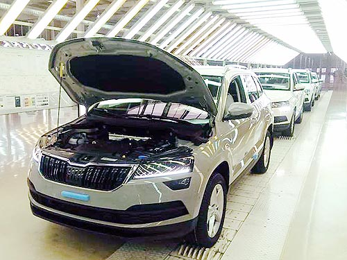 В Украине стартовала сборка нового SUV Skoda Karoq
