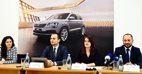 В Ивано-Франковске открылся новый дилерский центр SKODA