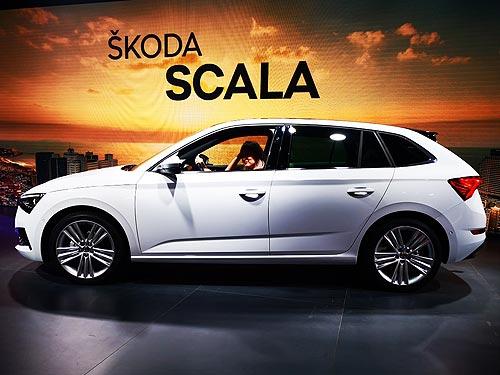 Стартовало производство новой Skoda Scala