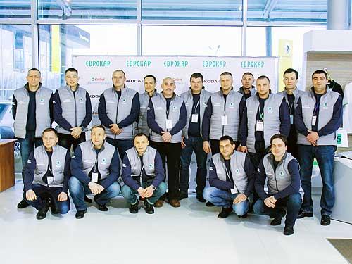В Украине назвали лучших специалистов SKODA