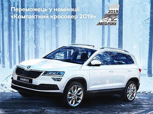 SKODA KAROQ признан лучшим компактным кроссовером в Украине