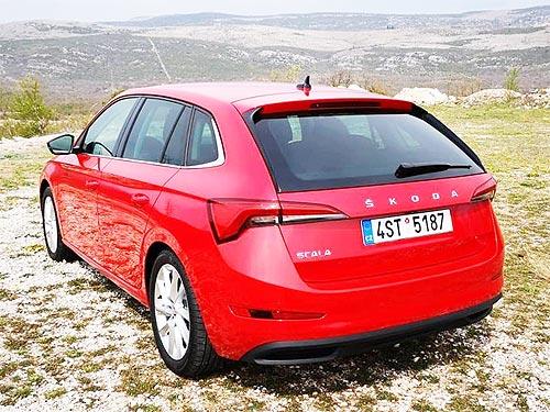 Skoda Scala - автомобиль, который создавали для интернет-поколения, уже осенью появится в Украине - Skoda