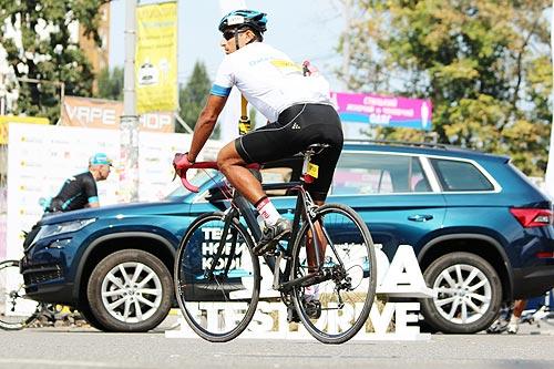 SKODA поддерживает велоспорт в Украине