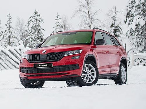 На популярные SUV SKODA действуют скидки до 36 000 грн.