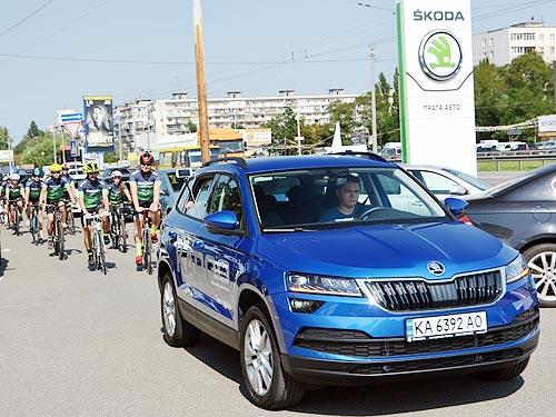 Почему Skoda поддерживает велосипедистов в Украине