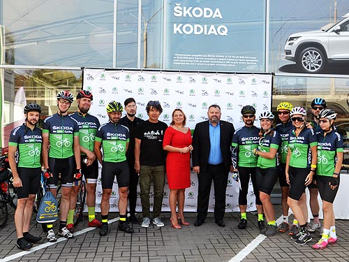 Почему Skoda поддерживает велосипедистов в Украине - Skoda