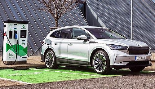 SKODA выпустила 100-тысячный электромобиль iV - SKODA