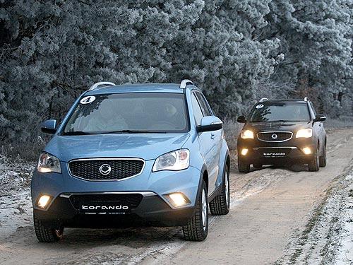 В Украине появился Ssang Yong Korando с бензиновым двигателем и 6-ступенчатой АКПП - Ssang Yong