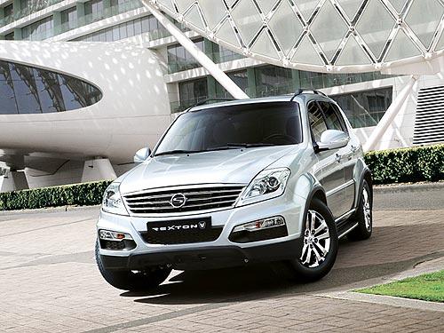 В Украине начались продажи новой модификации Ssang Yong Rexton W с Multi LINK - Ssang Yong