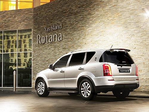 Полноприводный рамный дизельный SUV на автомате в июле доступен за 797 900 грн. - SsangYong