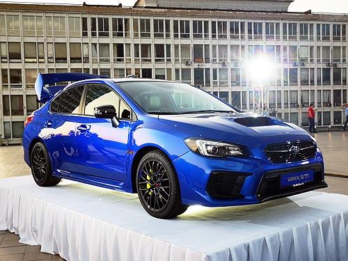 Новая высота легендарной Subaru WRX STI