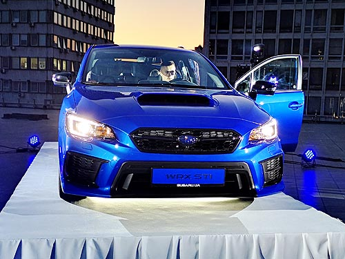 Новая высота легендарной Subaru WRX STI - Subaru