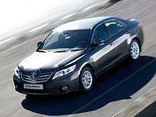 На Toyota Camry 2010 года выпуска действуют беспрецедентные цены