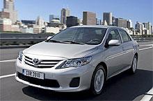 На Тoyota Corolla действует привлекательная цена и первые два ТО в подарок