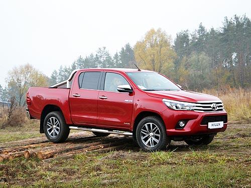 Легендарный пикап Toyota Hilux отмечает 50-летие - Toyota