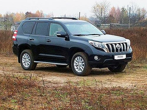 Украинские силовики пересаживаются на Toyota Land Cruiser Prado
