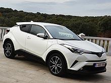 Тест-драйв Toyota C-HR: красота без жертв - Toyota