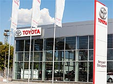 В Белой Церкви открылся автосалон Toyota