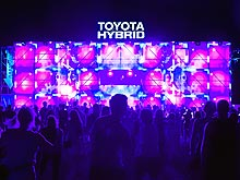 Toyota представила прогрессивные технологии на фестивале Atlas Weekend 2017