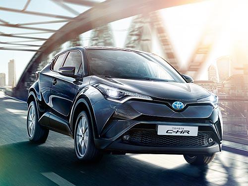 Toyota C-HR Hybrid стал лучшим в Украине в номинации «Компактный городской кроссовер»