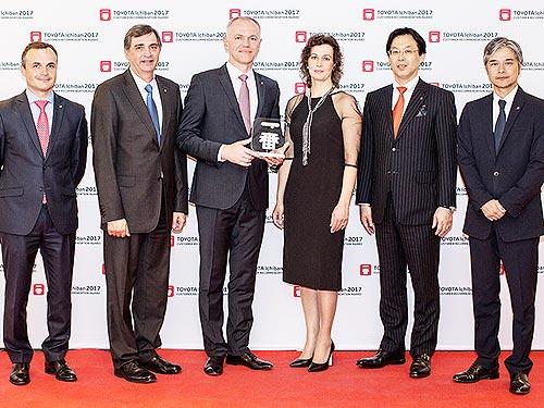 Украинский дилер Toyota получил премию Ichiban