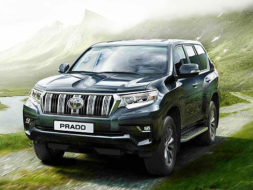 В Украине стартовал прием заказов на новый Toyota Land Cruiser Prado - Toyota